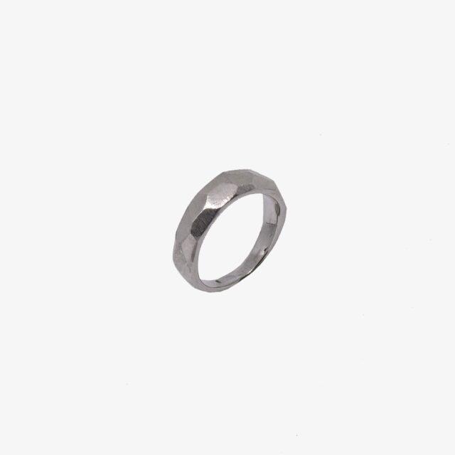 Facetteret ring, lille